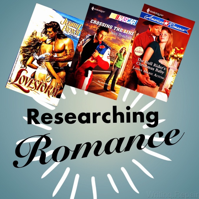 researching romance novel plots