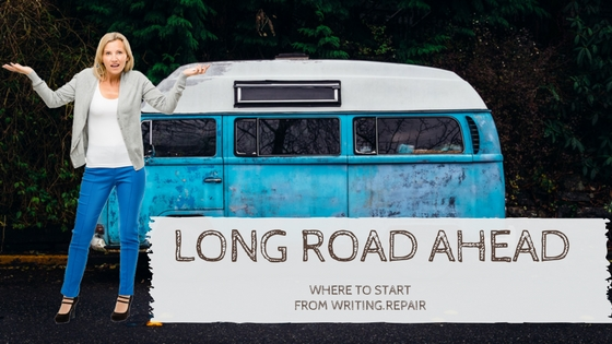 long road ahead where to start writing repair