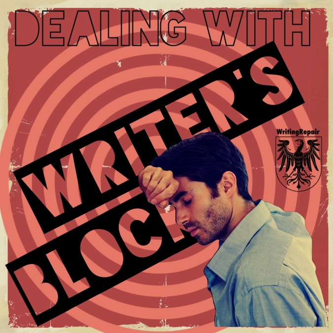 Dealing with writer's block writing repair